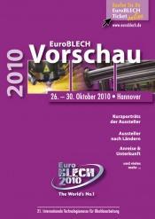 Umfangreiche Messevorschau zur EuroBLECH