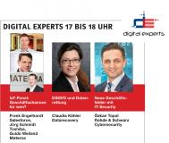 DATARECOVERY® im CeBIT CRN-TV bei Digital Experts und im Heise IT-Security Pavilion