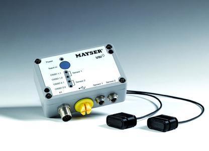 Der Mayser Ultraschall-Industriesensor USi