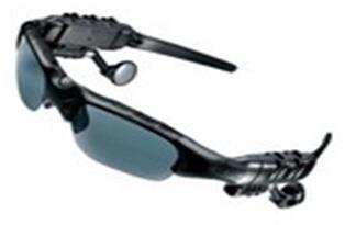 Sonnenbrille mit MP3-Player und FM-Radio