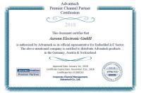 Wir sind offizieller Advantech Premier Channel Partner in der DACH-Region