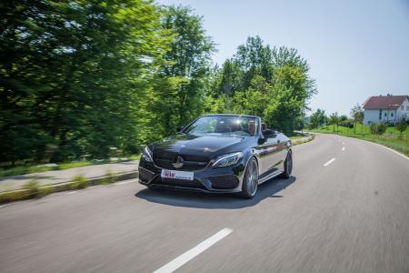 Neben der Mercedes-Benz C-Klasse (W205 Baureihe) mit Heckantrieb sind die in der Höhe einstellbaren Federn ab sofort für sämtliche Mercedes-AMG C43 4MATIC lieferbar.