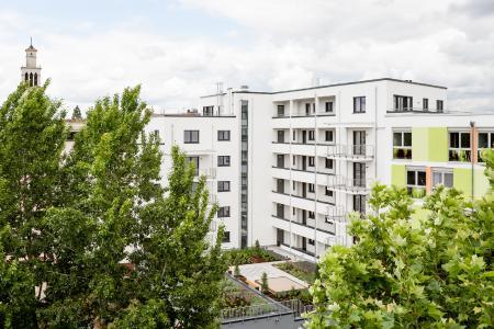 """Das """"Schwetzinger Haus"""" in Mannheim. Die ESPS schafft Wohnraum im angespannten Wohnungsmarkt der badischen Metropolen"""