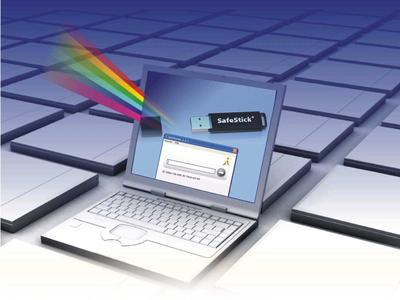 SafeStick - Mini-Stick mit großer Wirkung für sensible Daten.