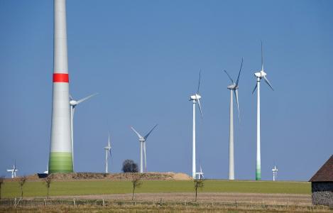 Windpark Asseln bei Lichtenau im Kreis Paderborn