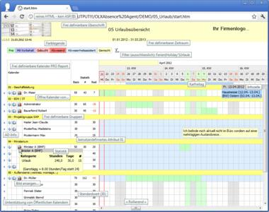 OLXAbsence v3.1 - Business / Office Suites & Tools Software