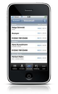 """Die STARFACE GmbH zeigt auf der """"Aufschwung 2010"""" den neuen STARFACE iPhone-Client, der allen Telefonanlagenkomfort auf das Kult-Smartphone bringt"""