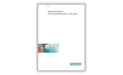DOWA Imagebrosch Titel