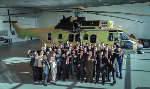 Indo Air Force EC725 acceptance