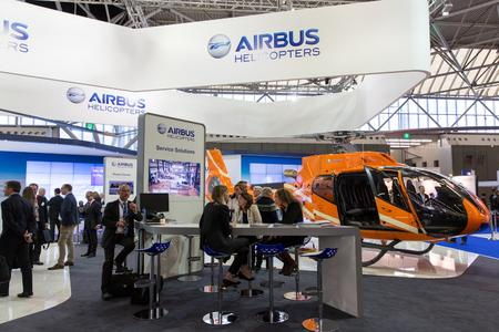 Airbus Helicopters' stand at Helitech, ©Copyright Lorette Fabre