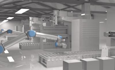 Digitales Fabrikmodell