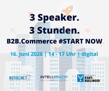 Online-Roadshow zum B2B Commerce am 16.06.2020
