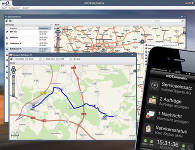 mOTelematix - die neue Telematikplattform der mobileObjects AG, Bild: mobileObjects