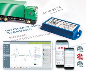 Internationaler Warenverkehr: Der Datenlogger Aspion G-Log 2 schafft als erster Schockrekorder eine eindeutige Beweislage im Schadensfall mit der neuen Schock-/Vibrationsprüfung gemäß europäischer Transportnorm.