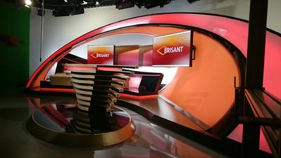 "eyevis LED Video Wall Modules for MDR's ""BRISANT"" Studio"