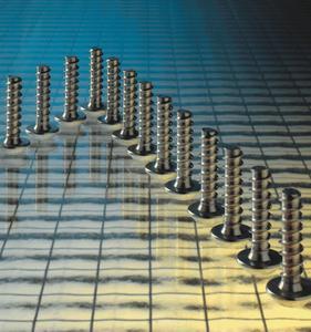 Remform-Schrauben von Arnold Umformtechnik setzen neue Akzente in der Kunststoff-Direktverschraubung.