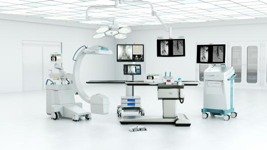 Complete mobile Hybrid Solution by Ziehm Imaging and Therenva