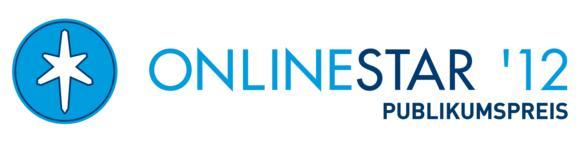Der OnlineStar 2012 Publikumspreis geht in die Hauptwahl