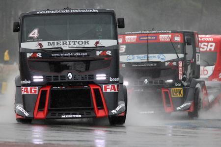 Renault Trucks-MKR Technology gewann in Le Mans den Europameisterschaftstitel 2012 der Teamwertung
