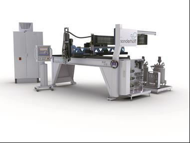 DM 403 mixing and dosing system with Simotion D445 controller