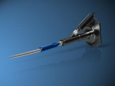 Fiber Coupler Simultaneously Transmits CO2 Laser Beam and Pilot Beam