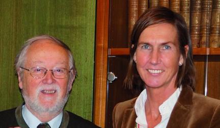 v. l. Dr. Gensthaler von Apotheker helfen und Dr. Kresser von ifap