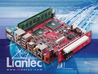 Liantec Tiny-Bus 1U Low Profile 2-Slot PCIe/PCI Extension Solution