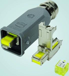 Die preLink® Anschlusstechnik ist jetzt auch im Han® 3 A–Gehäuse erhältlich