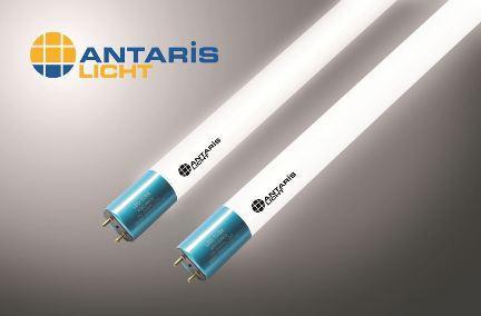 Die neuen Antaris Licht LED-Glasröhren überzeugen mit hoher Lichtausbeute, hochwertiger Produktqualität und vielen weiteren Vorteilen. Bild: ANTARIS
