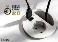 EVOline Circle80 gewinnt German Design Award Special 2021!