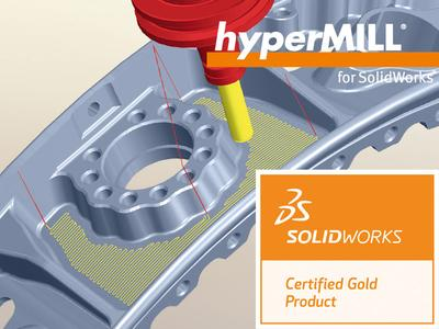 hyperMILL® for SolidWorks® Certified Gold Product. Bildquelle: OPEN MIND