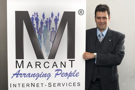Thorsten Hojas, Geschäftsführer der Marcant GmbH, präsentierte heute auf der CeBIT die neue E-Mail-Archivierungslösung Mail-to-store.