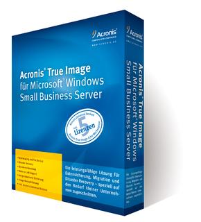 Boxshot Acronis True Image für Microsoft Windows Small Business Server (rechts)