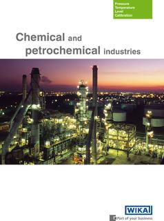 "Brochure ""Chemical and petrochemical industries"""