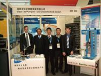 ViscoTec employees at SNEC in China