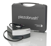 The extremely compact Piezobrush, a cold-active plasma hand-held device, was developed especially for manual surface activation under ambient pressure.  Even temperature-sensitive substrates can be treated with this economical and portable plasma tool thanks to an activation process carried out at approx. 40 °C.