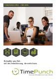 Produktinformation und Präsentationsmappe für TimePunch PRO 3.x