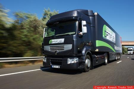 Renault Trucks sucht mit der Optifuel Challenge den Sparmeister.
