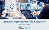 albis-elcon vereinbart eine strategische Zusammenarbeit mit CampusGenius zur Errichtung von 5G Campus Netzen