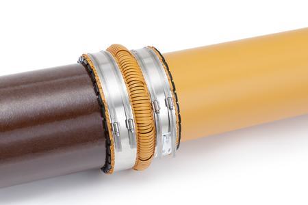 Mit nur acht Produktvarianten für den Abmessungsbereich DN110 bis DN630 ist die AWADUKT FLEX-CONNECT Rohrkupplung für jeden Anwendungsfall gewappnet / Foto: REHAU
