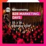 B2B Marketing Days 2019 – jetzt Referent werden
