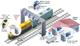 Faster Railway Inspection with flexible Connectivity