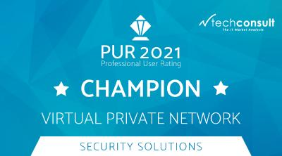 techconsult Professional User Rating 2021: LANCOM is VPN Champion for the fifth time in a row