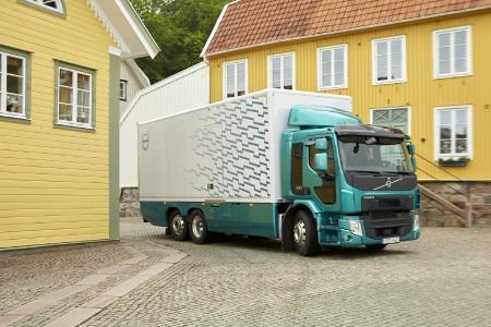 Der Volvo FE 350 ist ein vielseitiger und flinker LKW