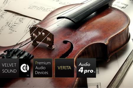 32-bit Premium Stereo ADC von AKM