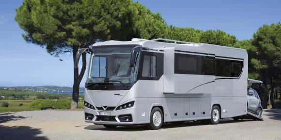 Reisemobil VARIO Perfect 1000 auf MB Actros 1835 LL