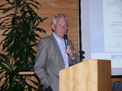 Präsident Reimer Reimer sieht den DDV für die zukünftigen Aufgabengebiete gut aufgestellt. Bildquelle: Deutscher Dachgärtner Verband