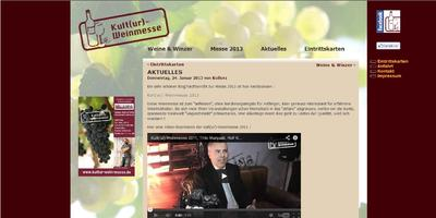 Blog optimiert internationale Kult(ur)-Weinmesse