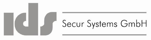 Das Logo der IDS Secur Systems GmbH in Leinfelden-Echterdingen