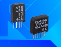 New 117 Series SIL Reed Relays from Pickering Electronics
